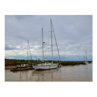 Yacht Suffolk Owl Postcard