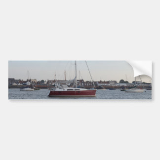 Yacht Tamzen Car Bumper Sticker