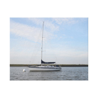 Yacht Titian Gallery Wrap Canvas