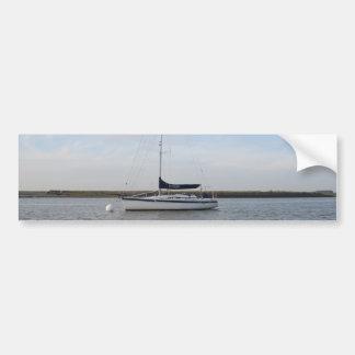 Yacht Titian Car Bumper Sticker
