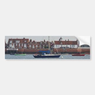 Yacht Trinco Car Bumper Sticker