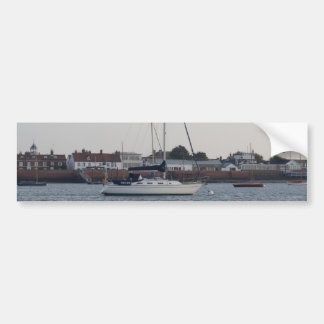 Yacht Triton Bumper Sticker