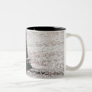 Yacht Two-Tone Coffee Mug