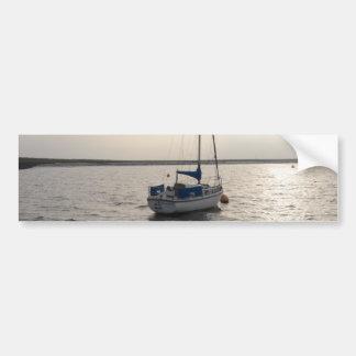 Yacht Windrush Car Bumper Sticker