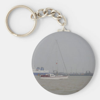 Yacht Yara Key Chain