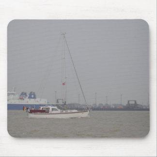 Yacht Yara Mouse Pad