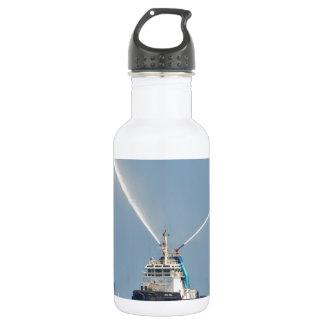 Yacht Zig Zag And Tug Water Bottle