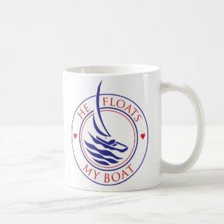 YachTees_He Floats My Boat mug mug