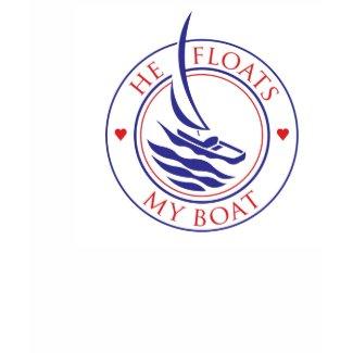 YachTees_He Floats My Boat t-shirt shirt