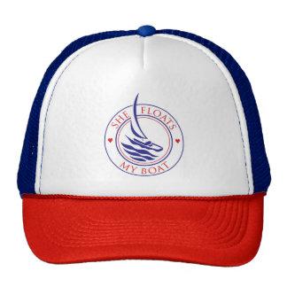 YachTees_She Floats My Boat_true love Trucker Hat