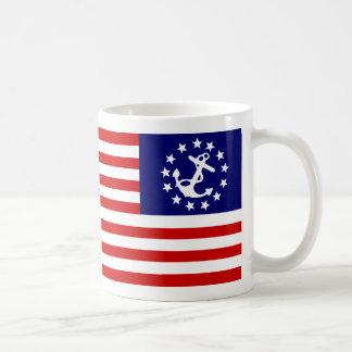 YachtEnsign Classic White Coffee Mug