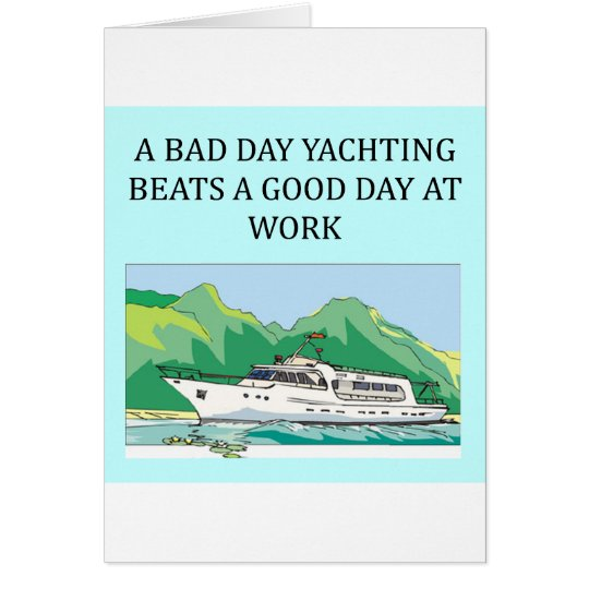 yachting life card