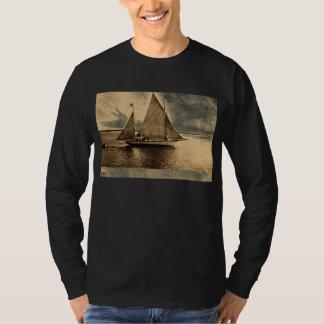 Yachting on Lake Erie, Buffalo NY 1909 vintage T-Shirt