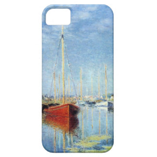 Yachts at Argenteuil by Claude Monet iPhone SE/5/5s Case