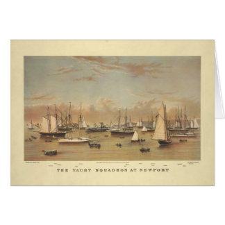 Yachts at Newport Card