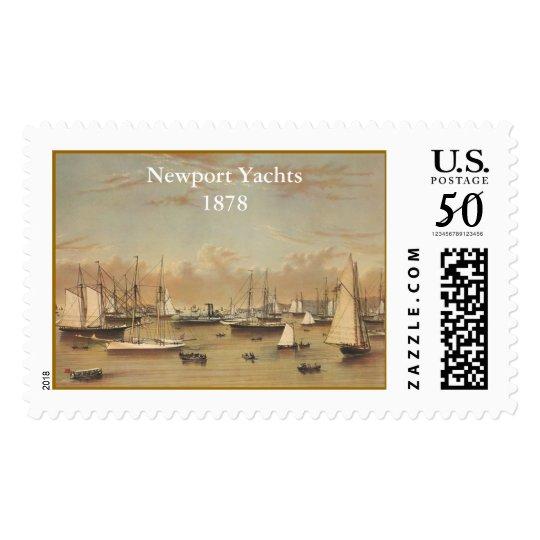 Yachts at Newport Postage