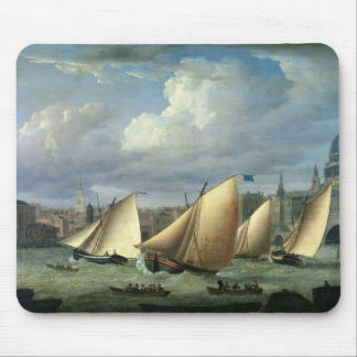 Yachts of the Cumberland Fleet starting Mouse Pad