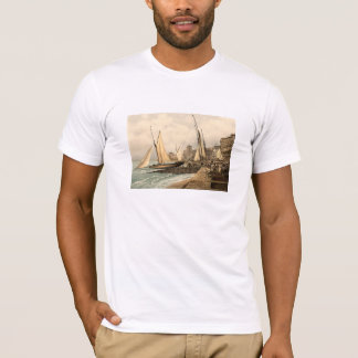 Yachts starting at Hastings, Sussex, England T-Shirt