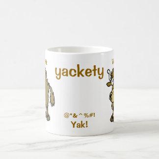 Yackety @*&^%#! Yak! Classic White Coffee Mug