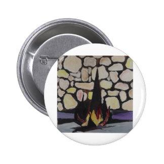 Yad Vashem 2 Inch Round Button