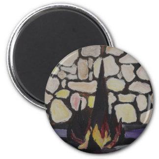 Yad Vashem 2 Inch Round Magnet