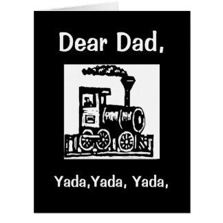 Yada, Yada, Yada, tarjeta de encargo del día de