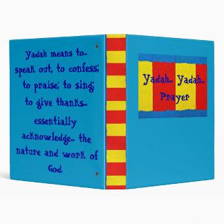 Yadah, Yadah, Prayer Binder