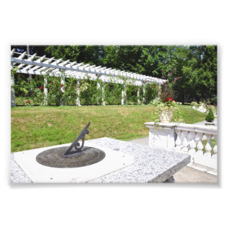 Yaddo Garden's 1904 Sun Dial Art Photo