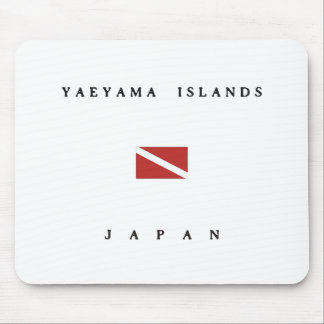 Yaeyama Islands Japan Scuba Dive Flag Mouse Pad