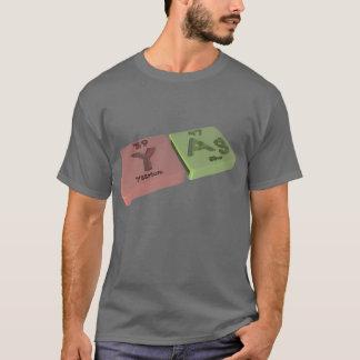 Yag as Y Yttrium and Ag Silver T-Shirt