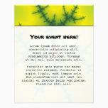 Yag Beam Fractal Art Flyer