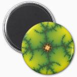 Yag Beam Fractal Art Magnet