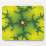 Yag Beam Fractal Art Mouse Pad