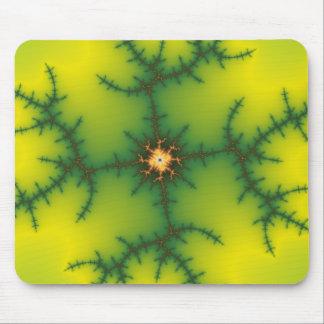 Yag Beam Fractal Art Mouse Pad