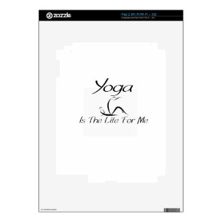 Yago Is The Lif For Me Decal For iPad 2