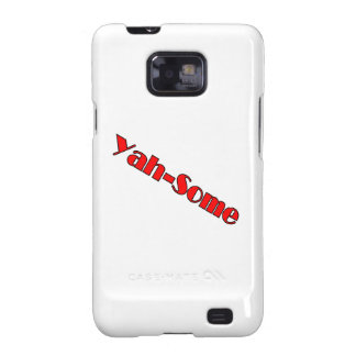 Yah-some (red) galaxy SII cases