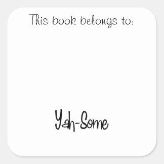 Yah-Some Sticker