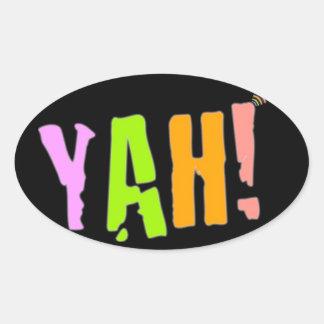 YAH! Sticker