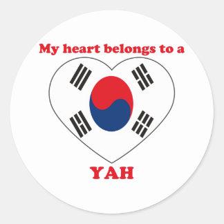 Yah Sticker