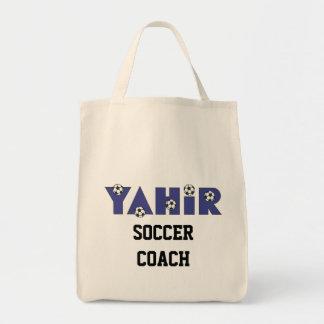 Yahir en azul del fútbol bolsa