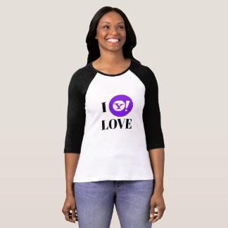 Yahoo! 3/4 Sleeve Raglan T-Shirt