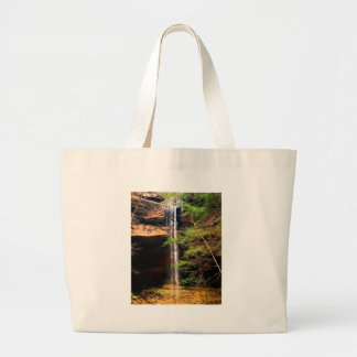 Yahoo Falls, Big South Fork Kentucky Large Tote Bag