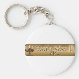 Yahs Way TV Keychains
