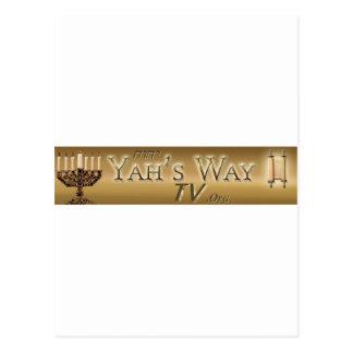 Yahs Way TV Postcard