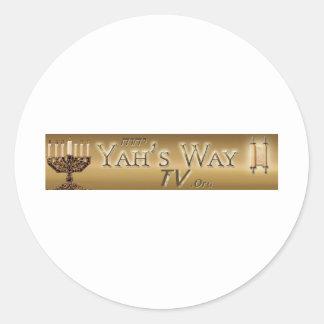 Yahs Way TV Stickers