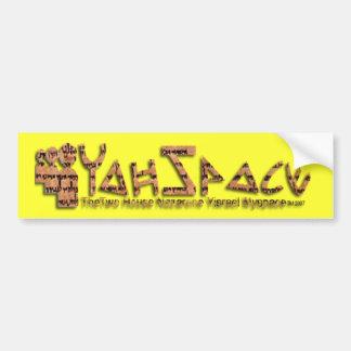 YahSpace Bumper Sticker