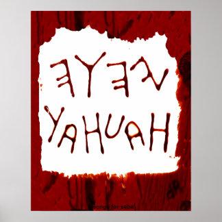 Yahuah Poster