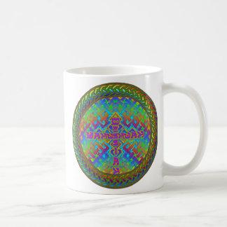 YAHUSHUAHmessiahrainbowbraid Coffee Mug