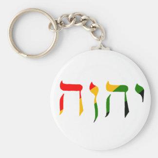 Yahweh in Hebrew Keychain