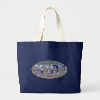 Yahweh on Water Large Tote Bag